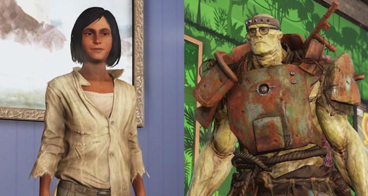 Fallout 76: el tablero de S.C.O.R.E. de la temporada 6 presenta a Los Imparables nuevos aliaods daphne maul