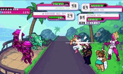 """El RPG Get in the Car, Loser! es un juego gratis protagonizado por """"lesbianas desastrosas"""""""