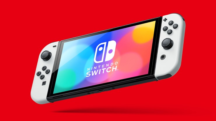 nuevo nintendo switch oled