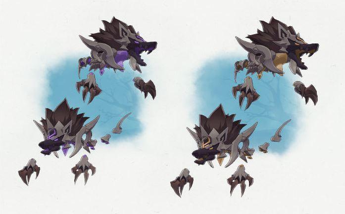 Genshin Impact: nuevos detalles sobre la Isla Tsurumi de la actualización 2.2 Cachorros y sabuesos acechadores enemigos