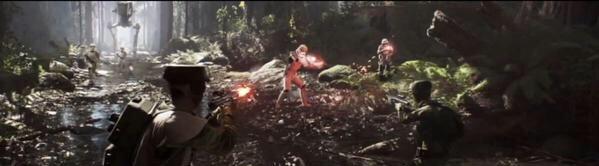 star wars battlefront 3rd Person