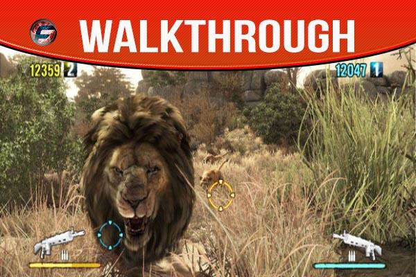 cabela's dangerous hunts 2013 wallkthrough