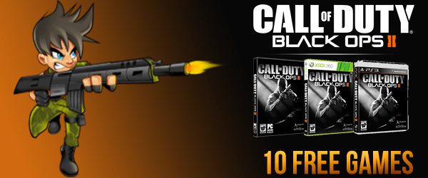 Black Ops 2 Giveaway 10 Free Games – GamerFuzion