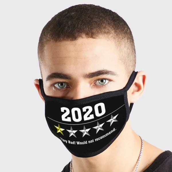 2020 1 Star Would Not Recommend Fashion 3 Ply Mask