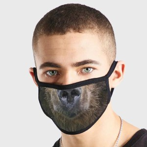 Animal Bear Non Medical 3 Ply Face Mask
