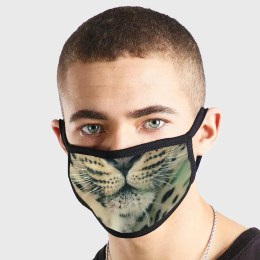 Animal Leopard Tiger Non Medical 3 Ply Face Mask