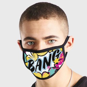 Cartoon Bang Non Medical 3 Ply Face Mask