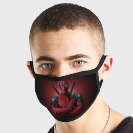 Deadpool Standing Non Medical 3 Ply Face Mask