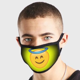 Emoji Angel Non Medical 3 Ply Face Mask