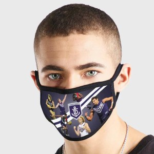 Fremantle Dockers AFL Non Medical 3 Ply Face Mask