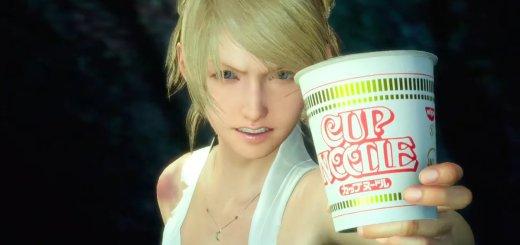 Final Fantasy XV Cup Noodle