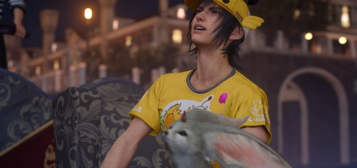 Final Fantasy XV DLC Moogle Chocobo Carnaval