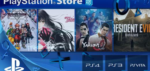 Playstation Store mise à jour 24 janvier 2017