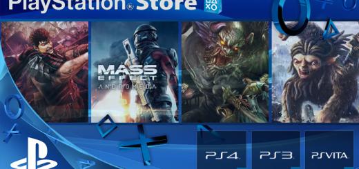 Playstation Store mise à jour 21 mars 2017