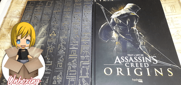 Assassin's Creed Origins artbook