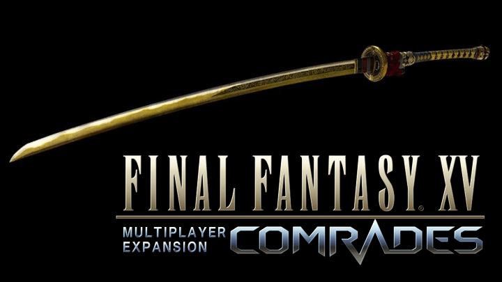 Final Fantasy Xv Comrades katana 120