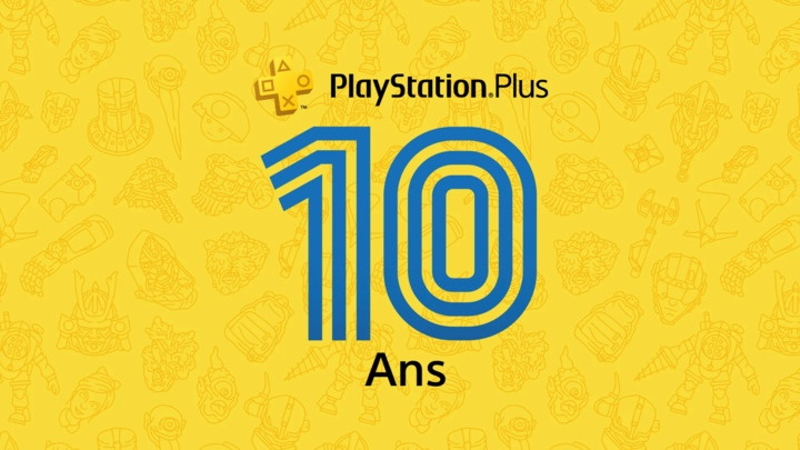 Playstation Pus 10 ans concours
