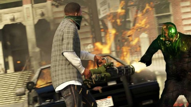 Are zombies taking over GTA V?