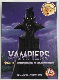 De doos van Vampiers - 1 nacht weerwolven en waaghalzen