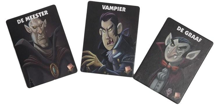 De vampier kaarten van Vampiers - 1 nacht weerwolven en waaghalzen