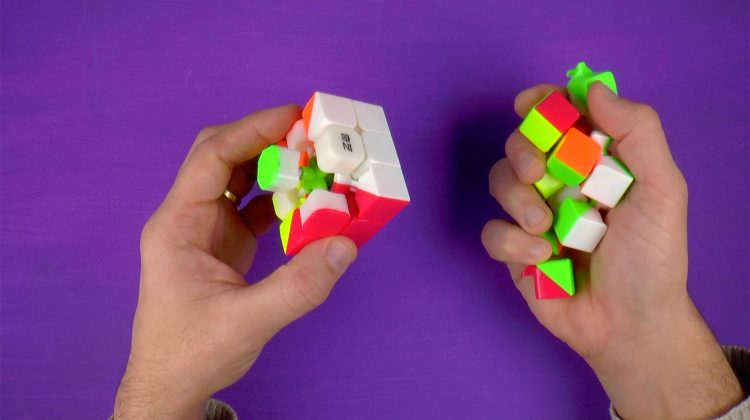 Zo zet je een speedcube weer in elkaar