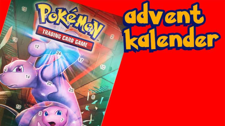 Pokemon Advent Kalender 2019