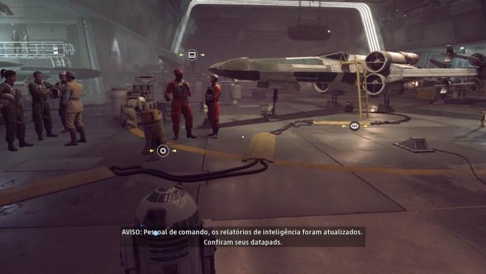 Base rebelde Star Wars Squadrons