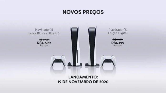 Sony anuncia redução de preço para o PlayStation no Brasil