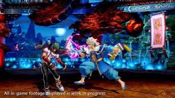 The King of Fighters XV Meitenkun combo