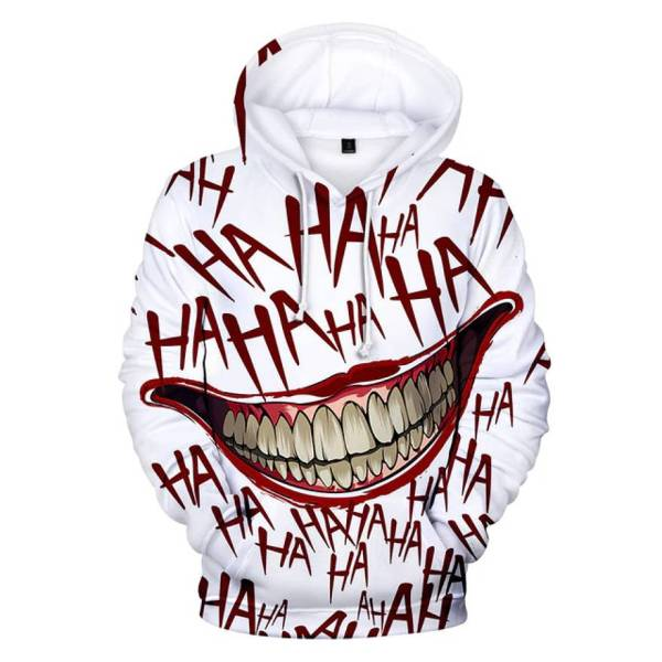 gamer-protocol-HAHA joker hoddie - front