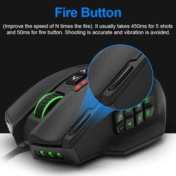 gasmer-protocol-Rocketek-USB-wired-Gaming-RGB-Mouse-16400-DPI-19-buttons-programmable-game-mice-with-backlight-ergonomic - rapid fire button
