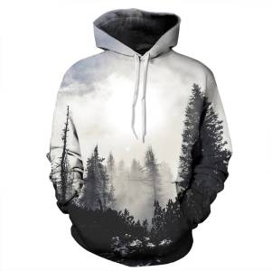 gamer-protocol-forest hoodie - Front