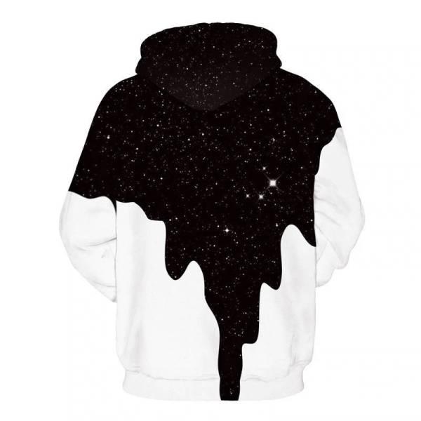 gamer-protocol-melting universe hoodie - Back
