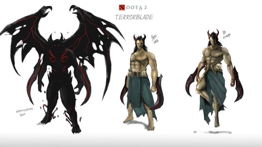 DOTA 2 Phoenix And Terrorblade Incoming Gt GamersBook