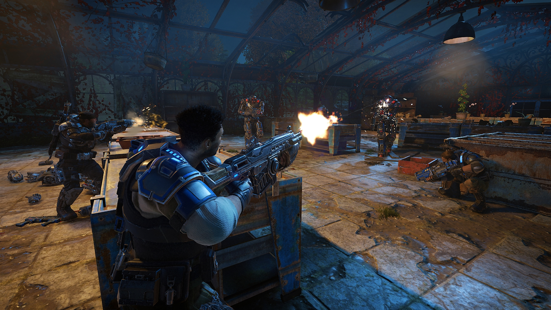 New Gears Of War 4 Screenshots Gt GamersBook