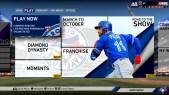 MLB The Show 19 Menü 1