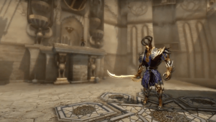 STORY OF PRINCE OF PERSIA : THE FORGOTTEN SANDS