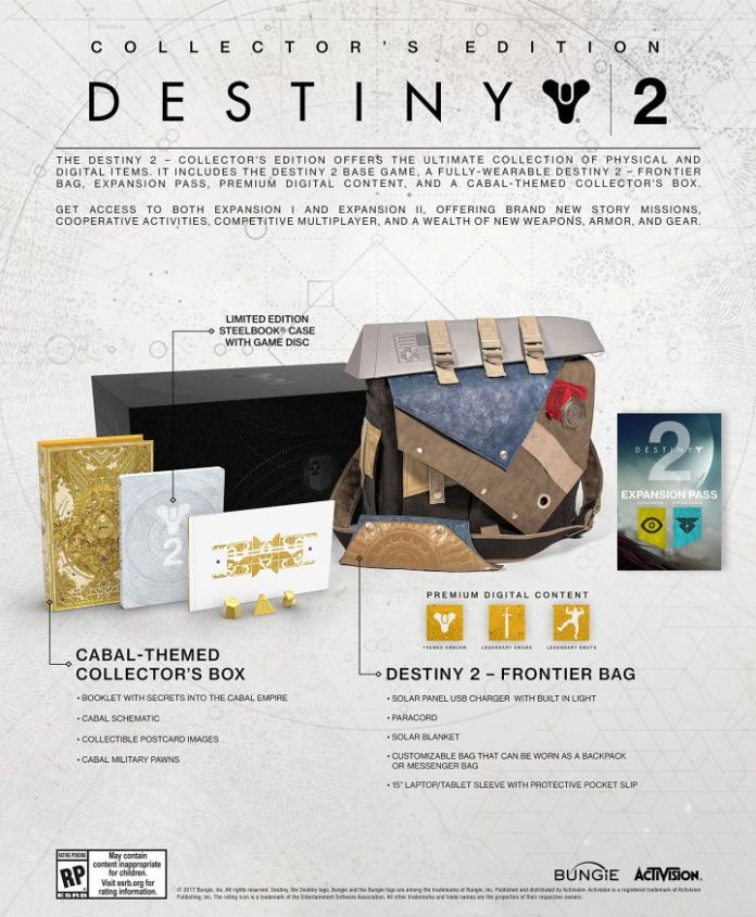 Collector's Edition Destiny 2