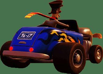 Crash Bandicoot N Sane Trilogy car easter egg 96-17