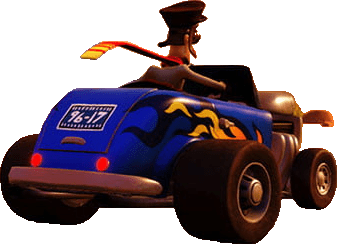 Crash Bandicoot N Sane Trilogy car easter egg 96-17