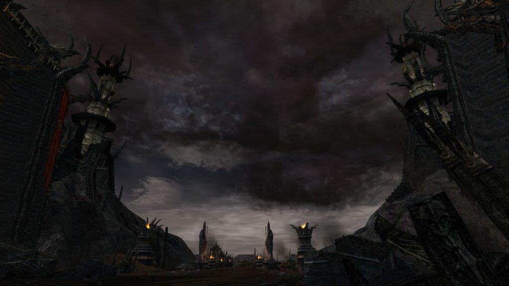 Lotro Mordor a peak past the Black Gate into Udun