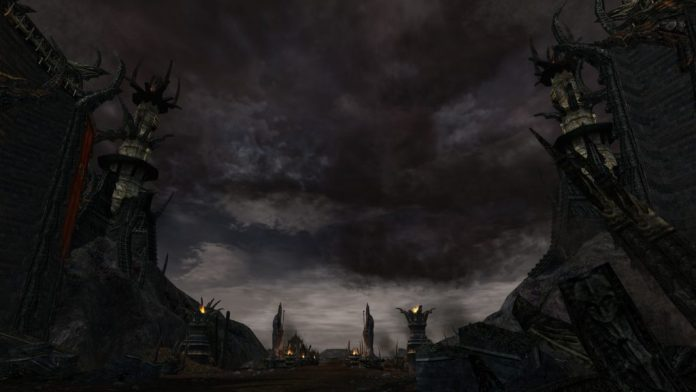 Lotro Mordor a peak past the Black Gate into Udun