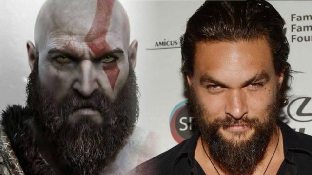 Jason Momoa God of War Kratos comparison