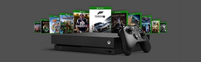 Microsoft Xbox One and Xbox One X games