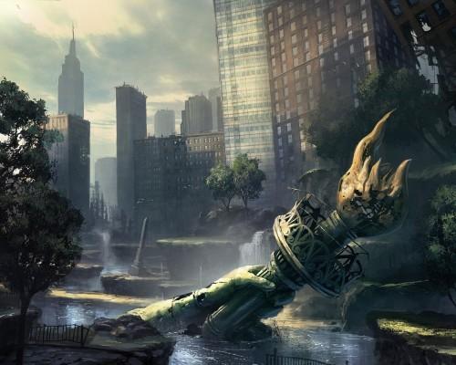 Fallout 5 New York apocalypse fanart