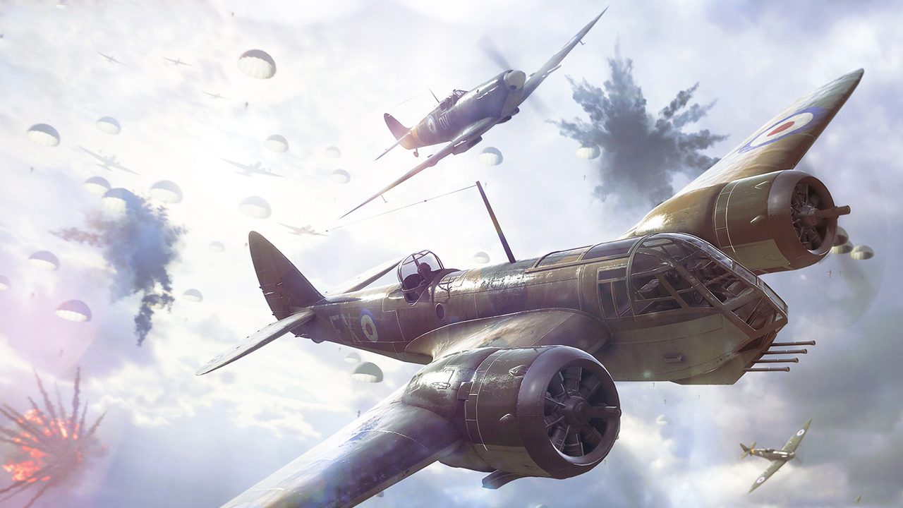 Battlefield 5 PC air combat