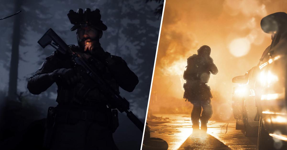 Modern Warfare crossplay