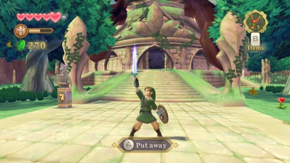 Link And Zelda Skyward Sword
