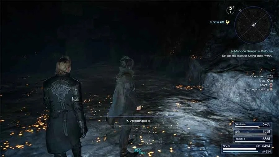 Where To Find The Apocalypse In Final Fantasy XV Most