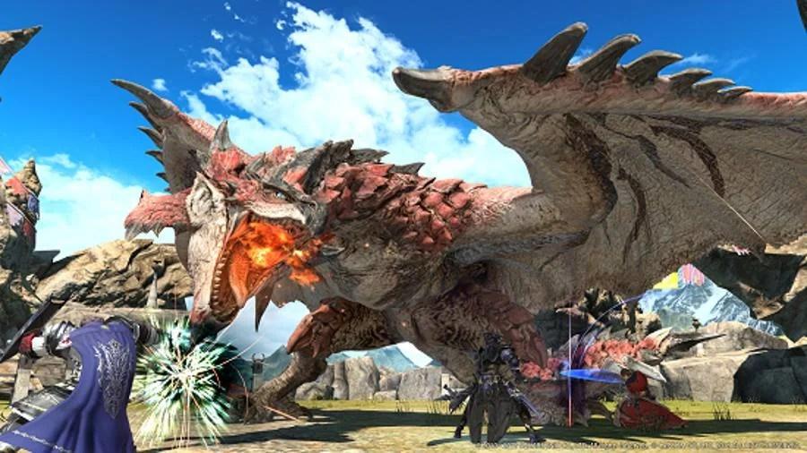 Final Fantasy XIV And Monster Hunter Collaboration Begins